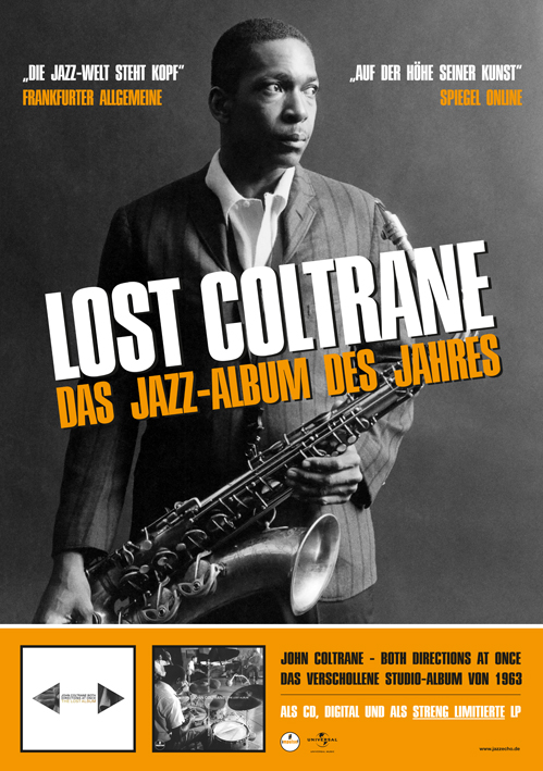 John Coltrane · Both Directions At Once - Poster